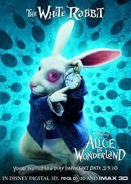 The White Rabbit Alice No Pais Das Maravilhas Coelho Filme