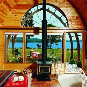 1 Bedroom Oceanview Chalet - Salt Spring Island Spa Resort Accommodation | Vancouver & Victoria, BC Gulf Island Getaway