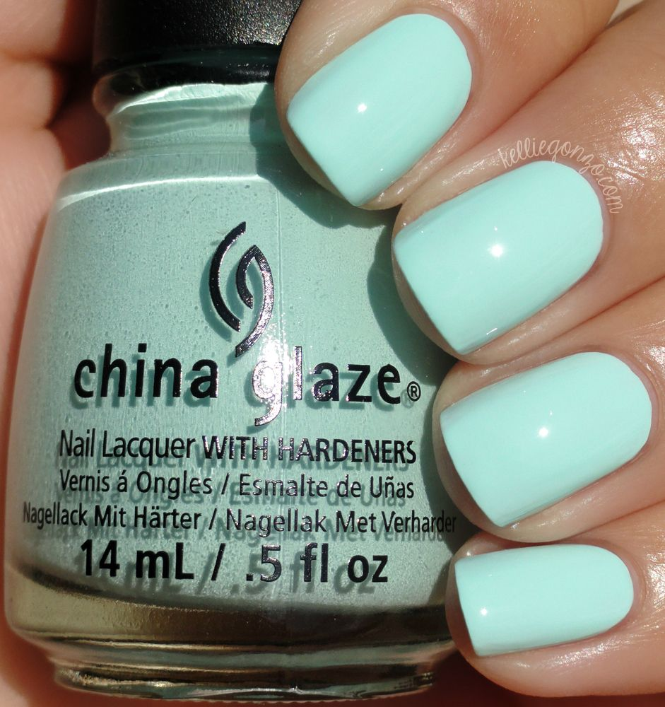kelliegonzo: China Glaze - At Vase Value | NAiLS | Pinterest ...