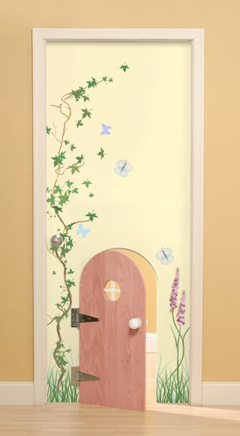 Kids Bedroom Door cute kids 'safety door'. lots of cute ideas for how to decorate