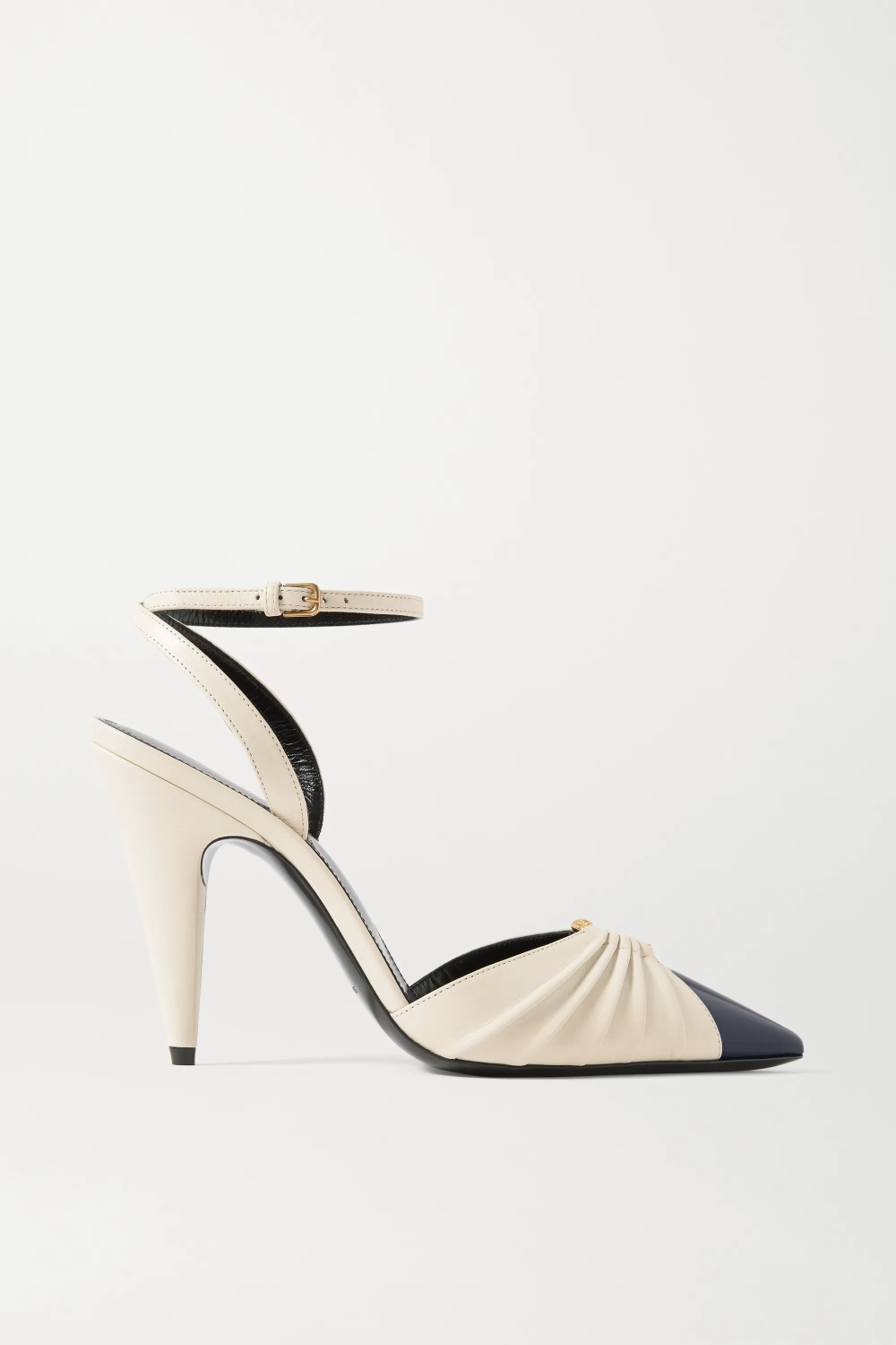 Diane embellished two-tone leather pumps SAINT LAU