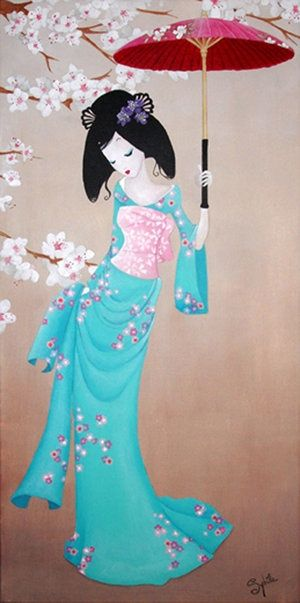Art Miss Tigri Amp Lady Sybile On Pinterest Geisha Art