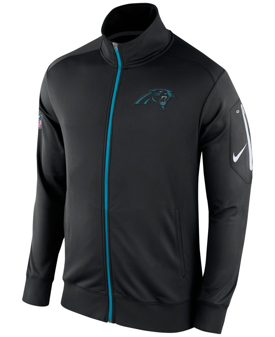 465dd1d4 Nike Men's Carolina Panthers Empower Jacket | Products | Nike men ...