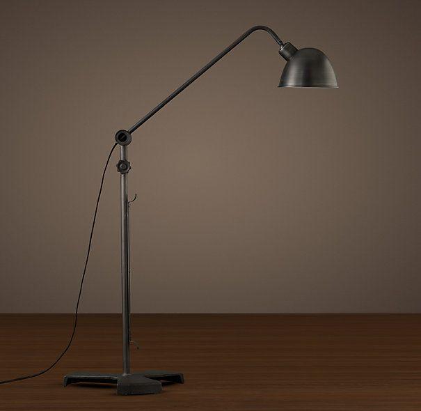 1950s French Mechanics Floor Lamp Shop The Look Frank