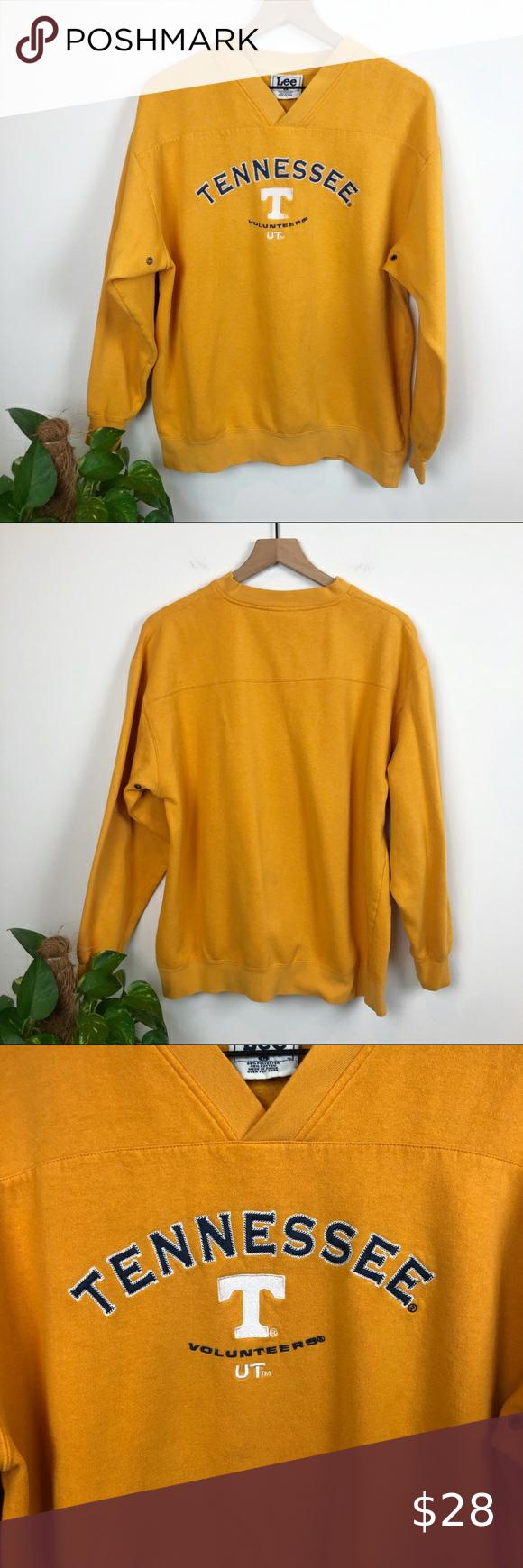 Vtg Oversized University Of Tennessee Sweatshirt Sweatshirts Vintage Sweatshirt Embroidered Sweatshirts [ 1740 x 580 Pixel ]