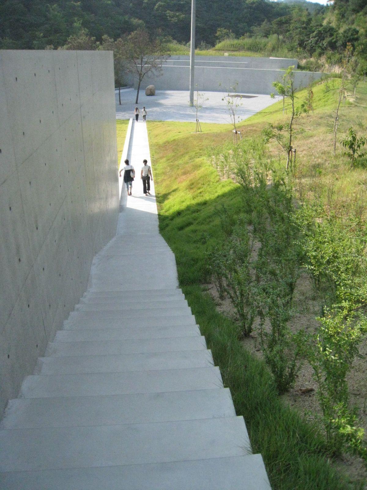 In Noshima. Lee-ufan Museum Designed Tadao Ando