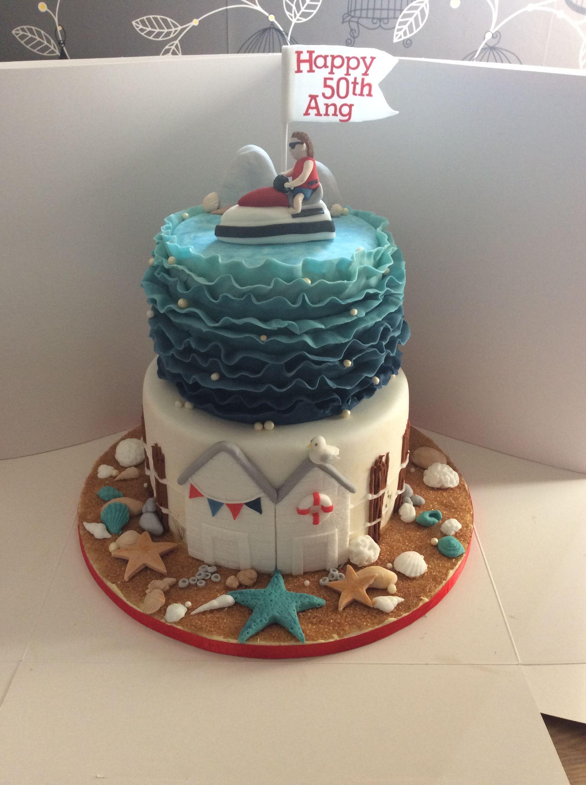 Beach Jet Ski How To Make Cake Different Cakes Cake Decorating