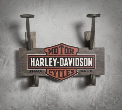 Wooden Helmet Jacket Rack Everything Harley Davidson Pinterest Impressive Harley Davidson Coat Rack