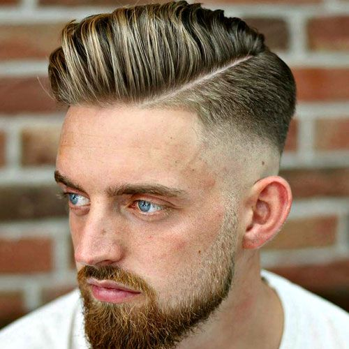 25 Hard Part Haircuts For Men 2019 Haircuts And Styles Hair Cuts