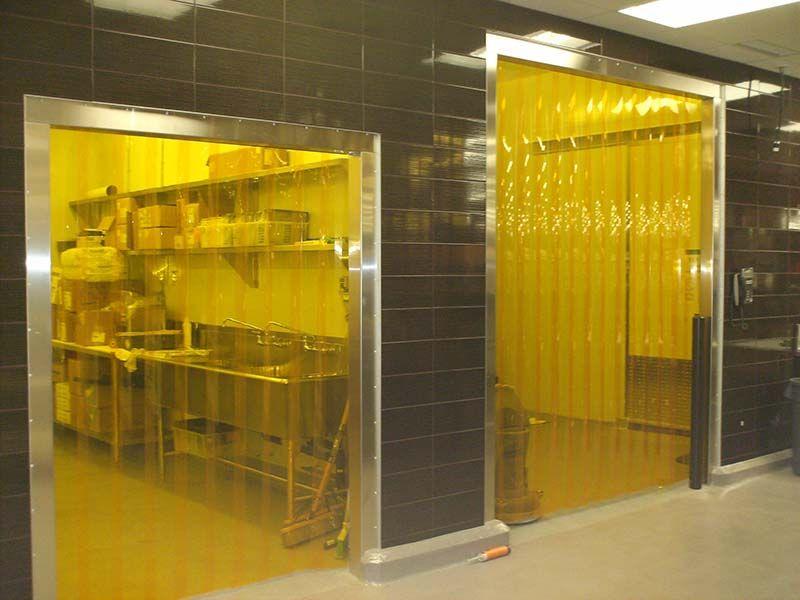 Plastic Strip Doors Increase Sanitation Help Maintain