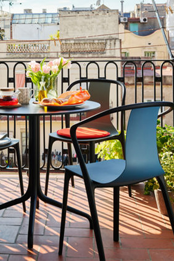 Vitra Belleville Armchair In 2020 Dining Chairs Outdoor