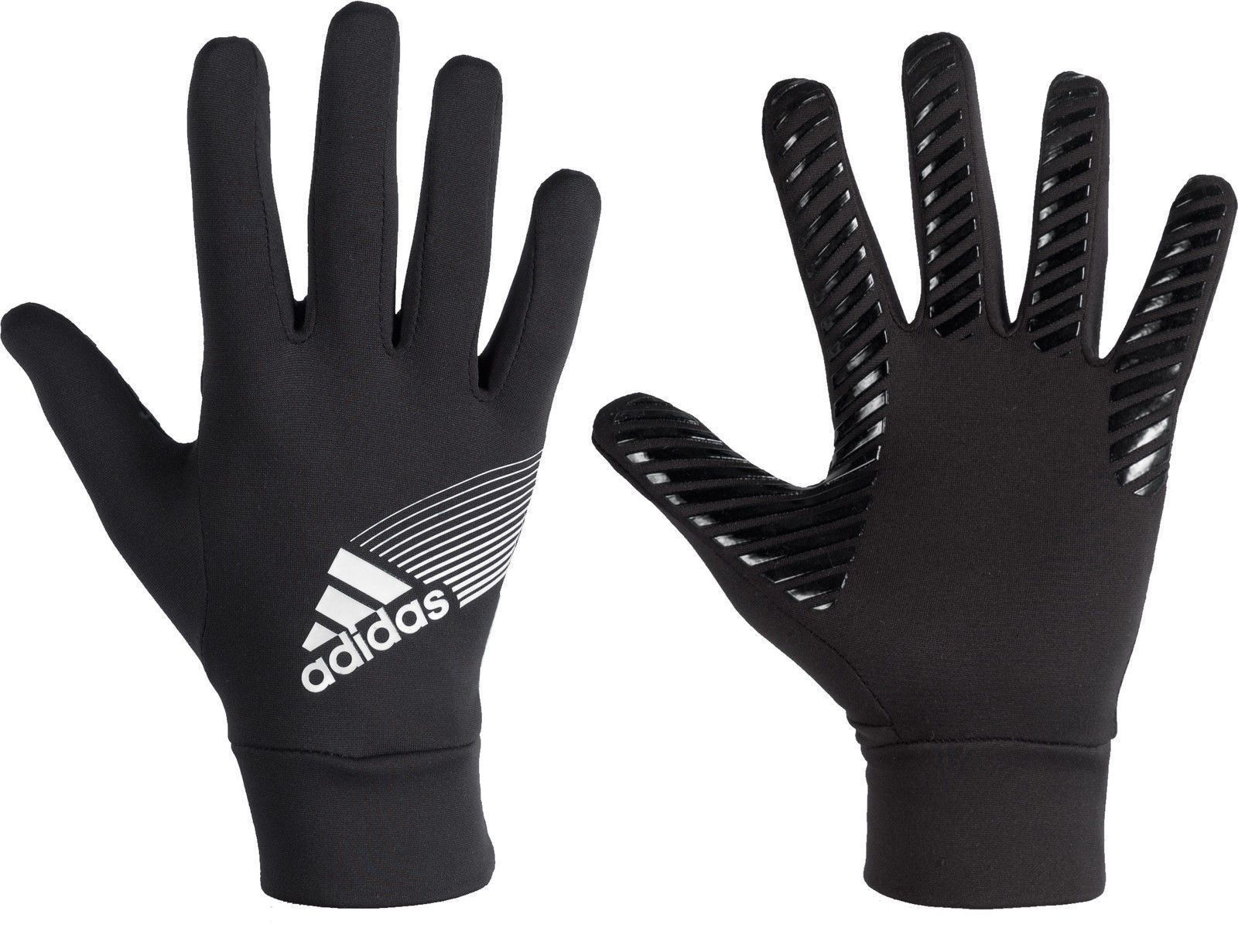 ADIDAS SOCCER FIELD PLAYER CP GLOVES CLIMAPROOF Black/White.