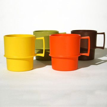 Tupperware mugs