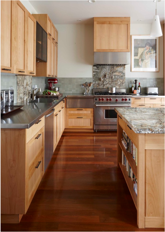 Popular Again Wood Kitchen Cabinets Centsational Girl Eclectic Kitchen Maple Kitchen Cabinets Wood Kitchen
