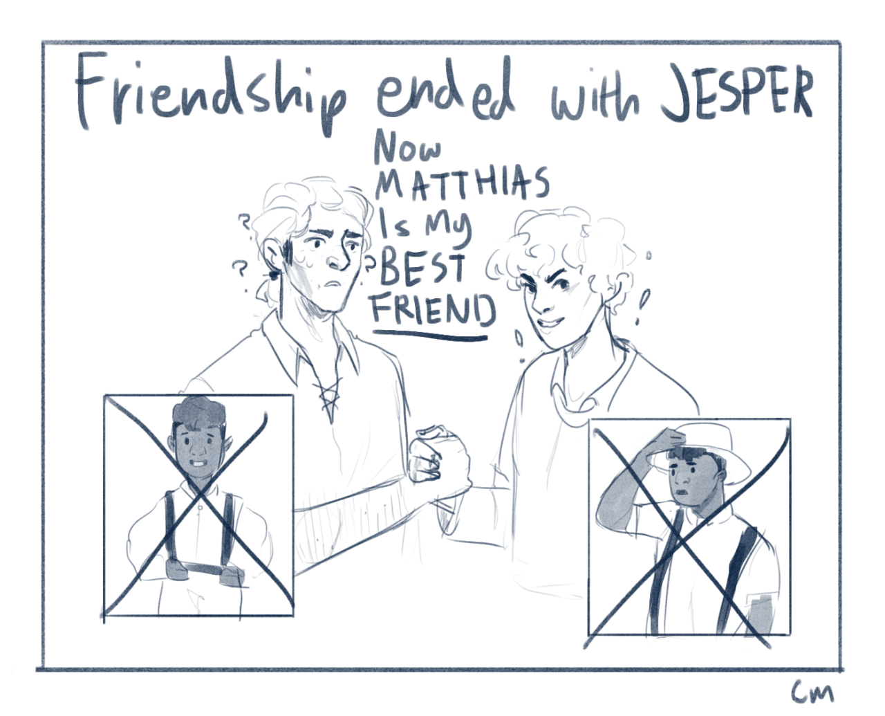 Aaaaaaa Wylan After Jesper Kissed Kuwei Also I Know That Six Of Crows Crow The Grisha Trilogy