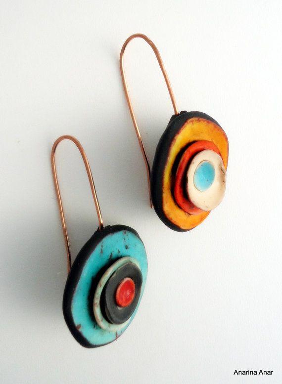 33fa4028c06e Polymer clay earrings