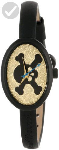 Vivienne Westwood Women's VV056BKBKNC Medallion Black Watch - All about women (*Amazon Partner-Link)