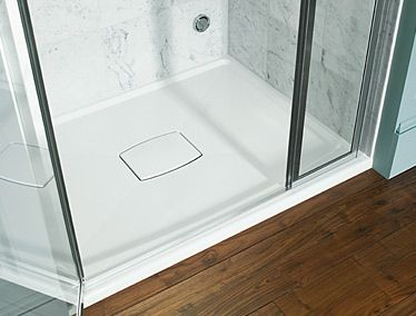 Example Of Shower Pan Kohler Says They Come In A Wide Variety Sizes