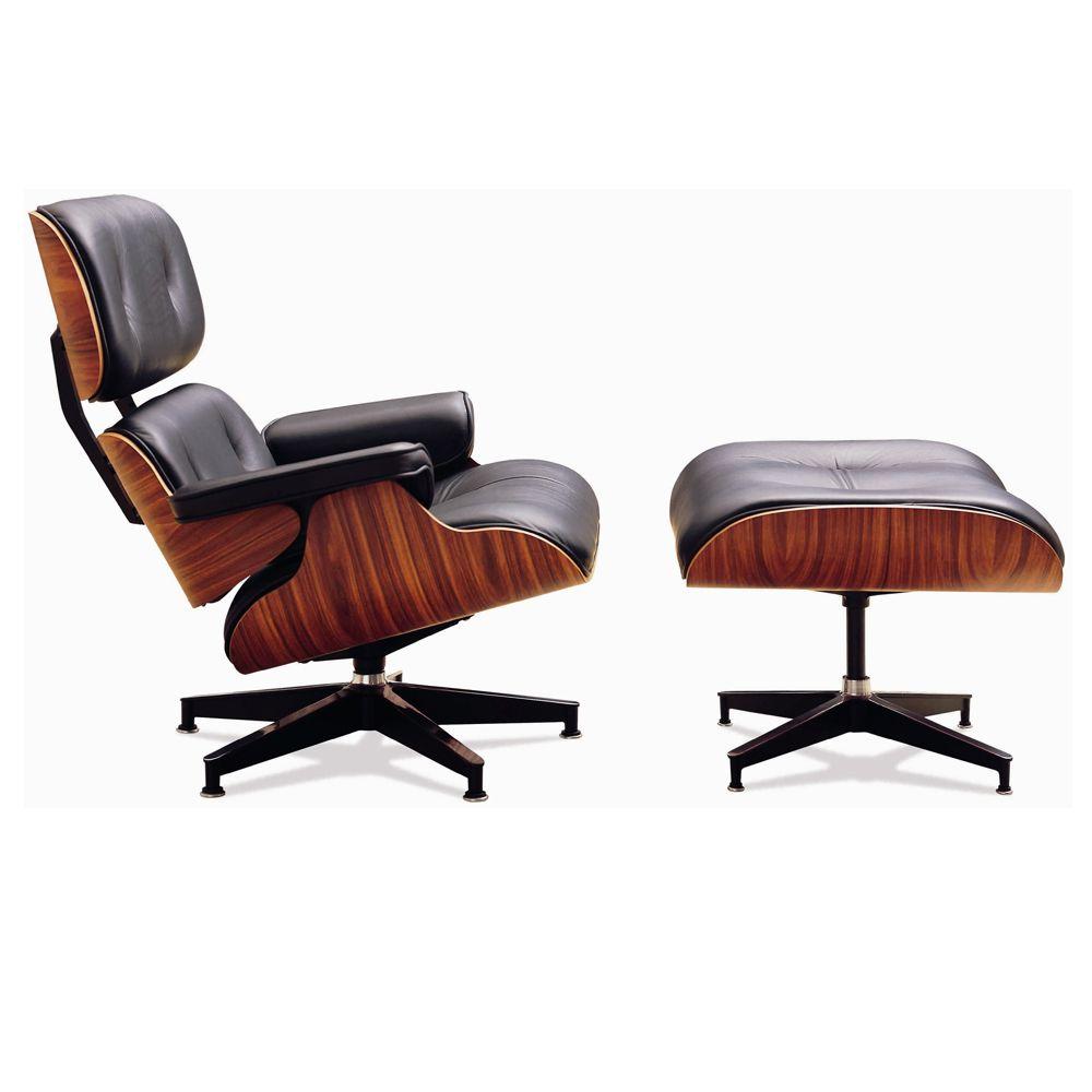 Replica Classic Lounge Chair Ottoman Clickon Furniture