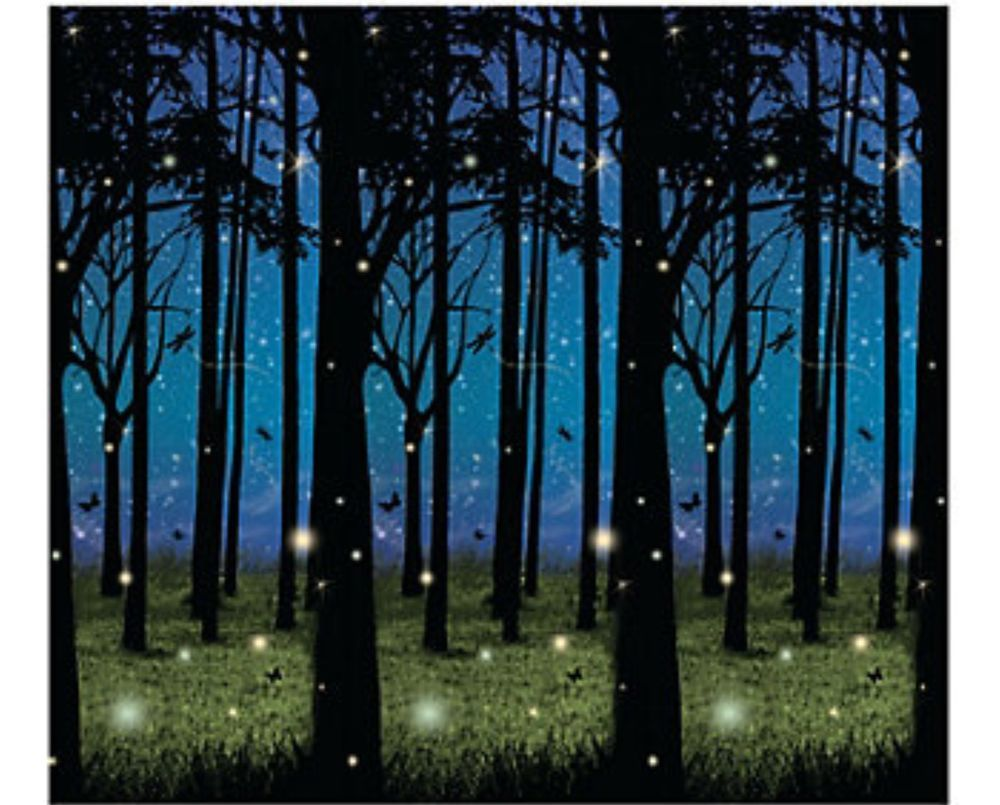 30 foot enchanted forest wall mural halloween scene setter photo 30 foot enchanted forest wall mural halloween scene setter photo backdrop