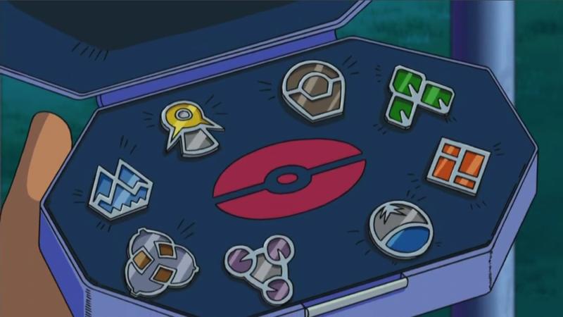 Ash Pokemon Badges Google Search