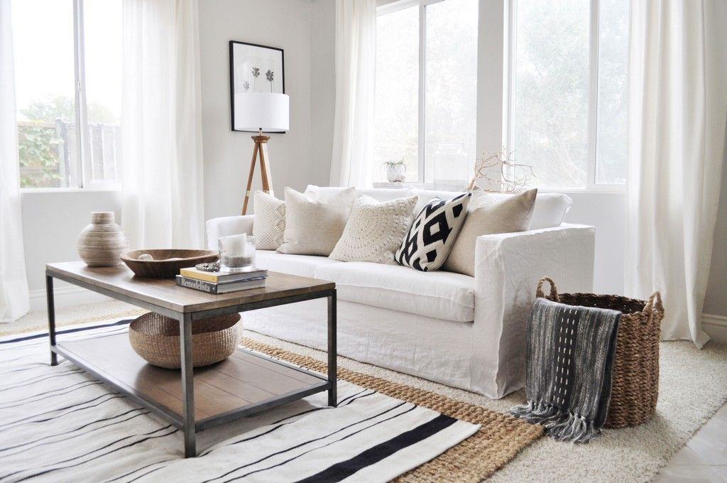 30 Wonderful California Style Living Room Ideas The Urban Interior Boho Style Living Rooms White Linen Sofa Living Room Decor Apartment #urban #style #living #room