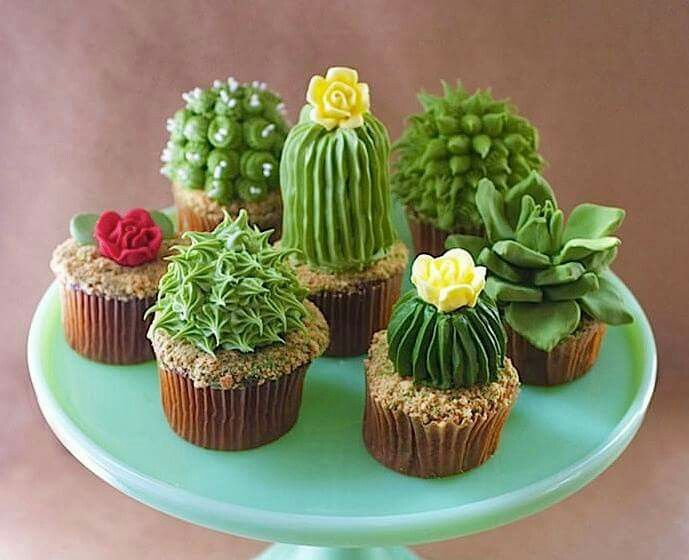 Succulents Live Up To Their Name As Cupcakes Yes Cupcakes