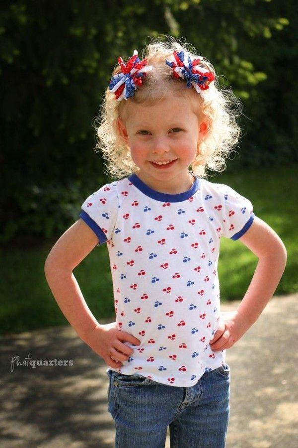 Free Pattern: Cecilia Puff Tee | Pinterest | Kinderkleidung ...