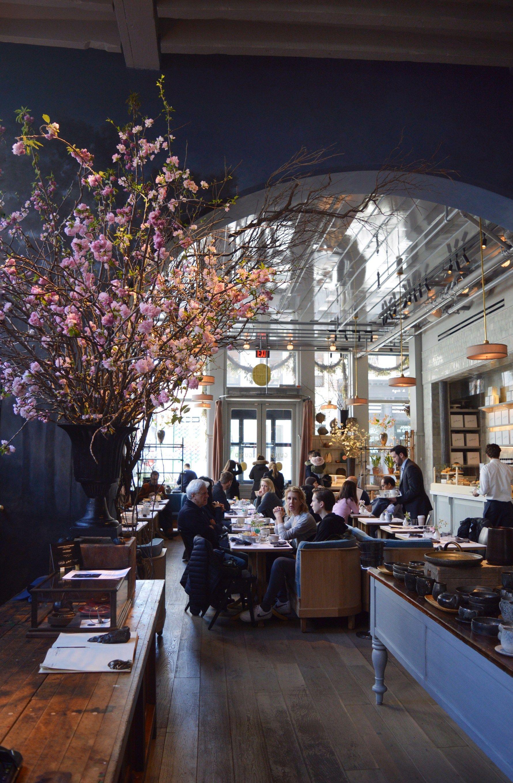 Restaurant Spotlight La Mercerie Cafe Soho Ny Loft Cafe Cafe Interior Design Soho Bars