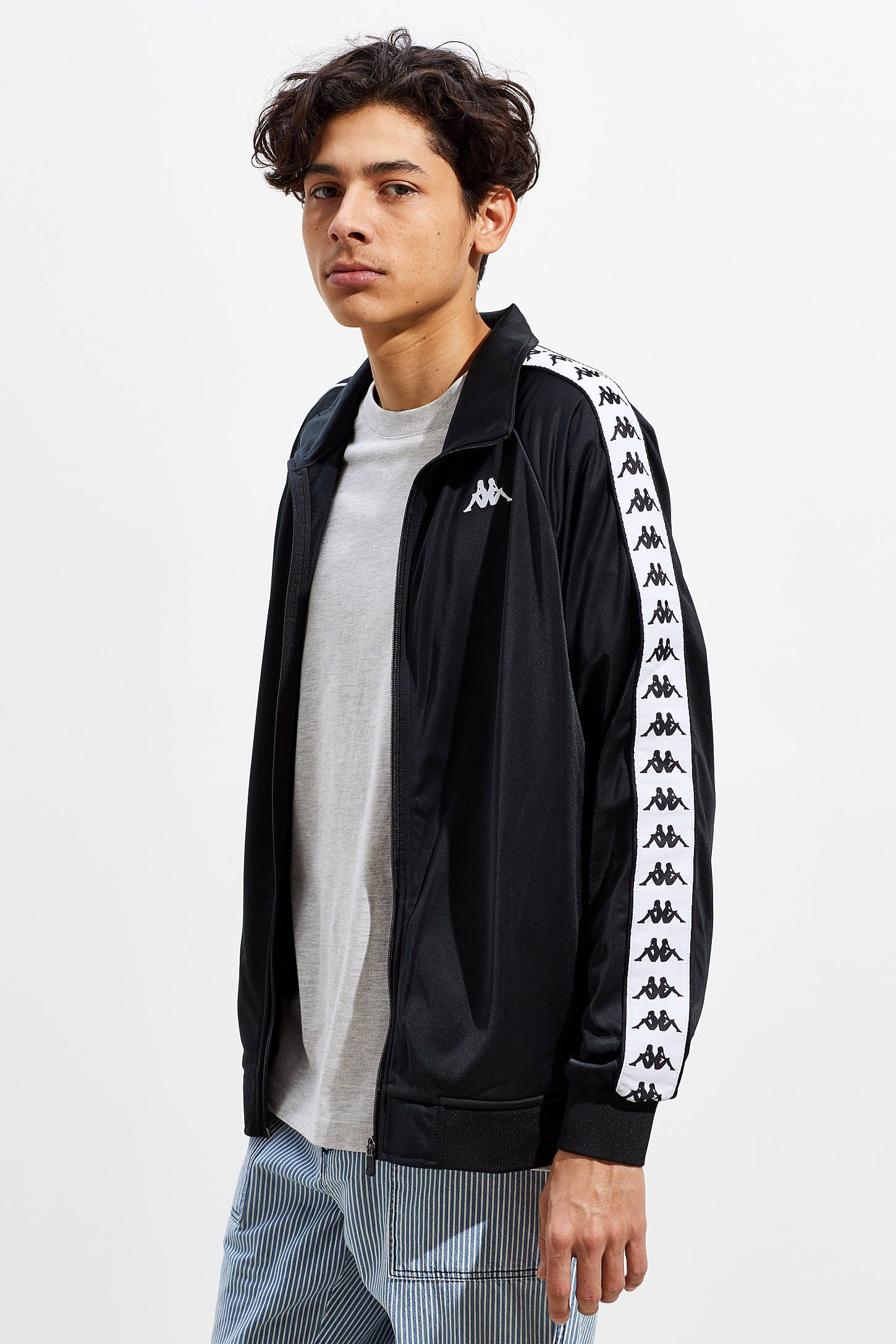 Kappa Banda Anniston Track Jacket Stylish Mens Coats Track Jackets Jackets [ 2175 x 1450 Pixel ]