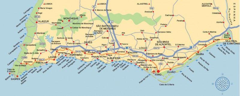 Un Recorrido Por El Algarve Al Sur De Portugal Algarve Portugal El Algarve
