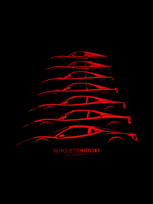 Silhouettehistory Pinterest Ferrari Cars And Supercars