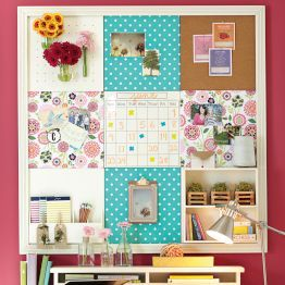 A col way to spice up your room and stay organized!  Teen Bedroom ...