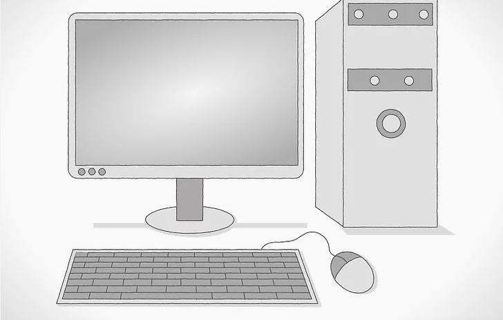 رسم الكمبيوتر بالصور للاطفال والمبتدئين بطريقة سهلة جدا وبسيطة كالمحترفين بدقة مثل الحقيقي Imac Computer Monitor Electronic Products
