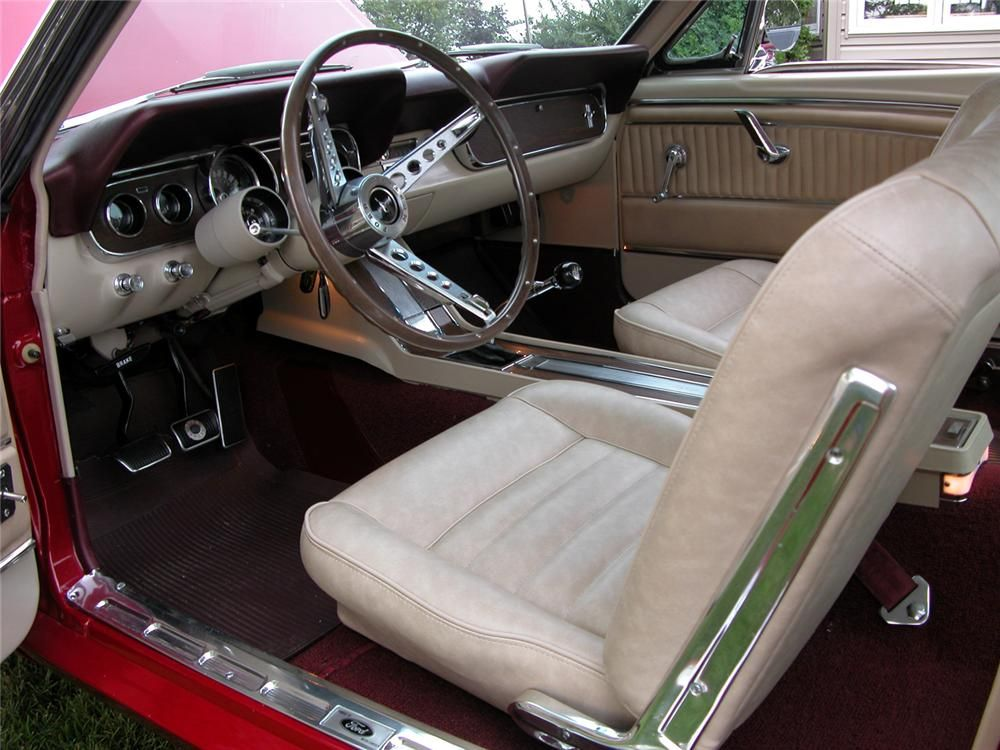 1966 ford mustang gt fastback interior 43459
