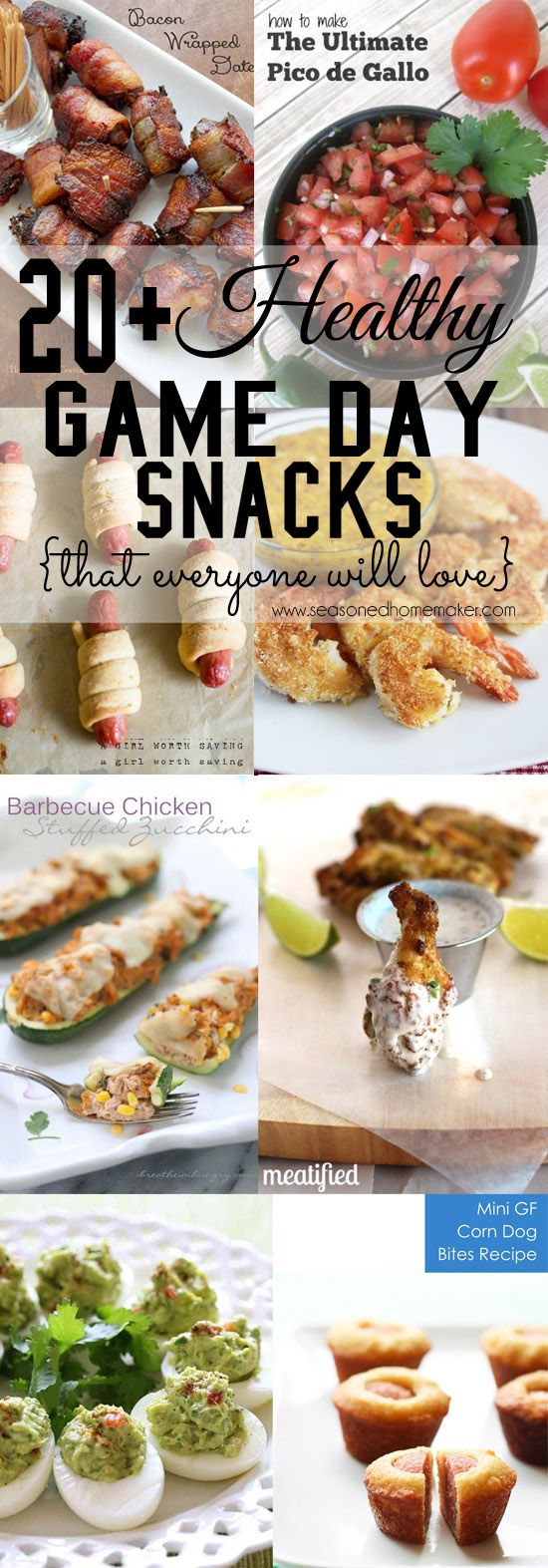 Healthy Game Day Snacks Healthy superbowl snacks, Game