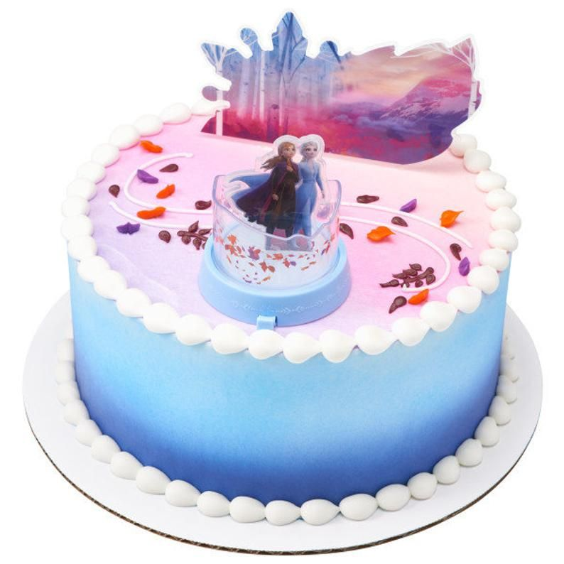 Frozen Ii Mythical Journey Cake Topper Anna And Elsa Topper