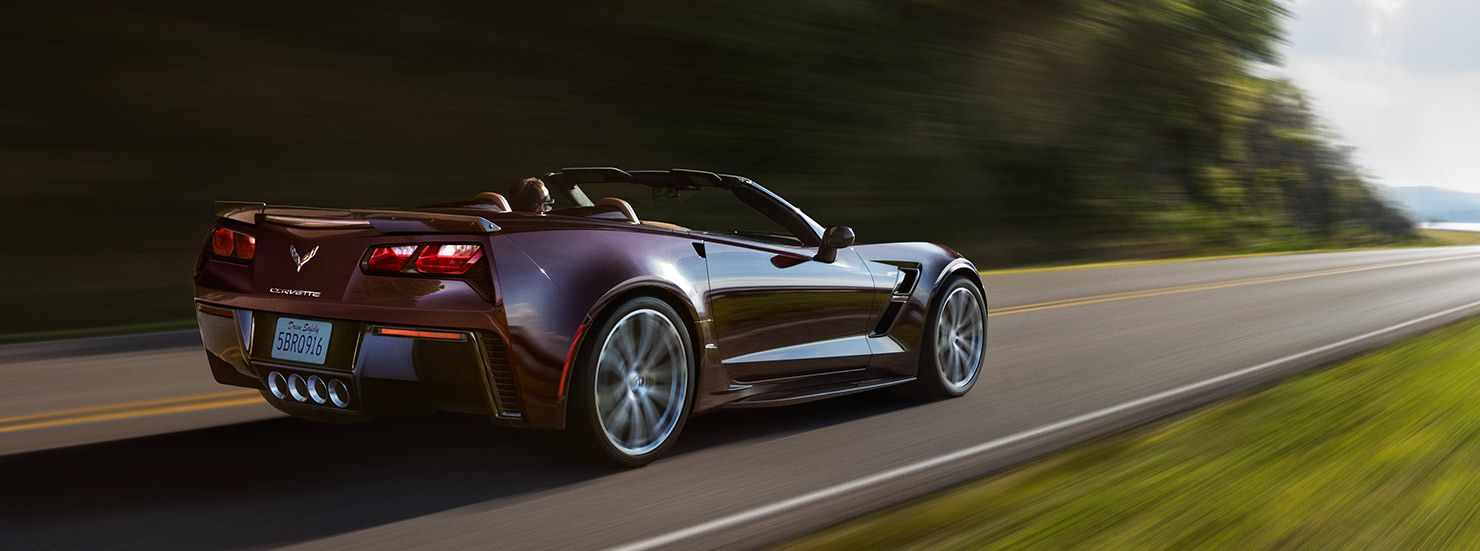 Genial Side Rear View Of The 2017 Chevrolet Corvette Grand Sport Sports Car At Chevrolet  Cadillac Of