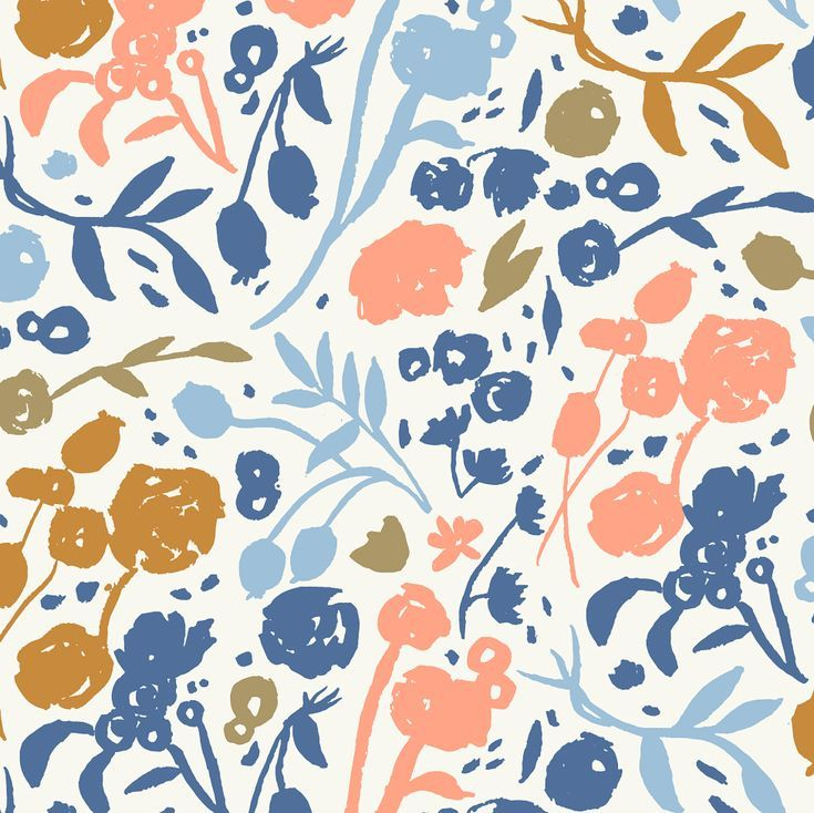 some flowers for you pattern illustration florals pattern rh pinterest com