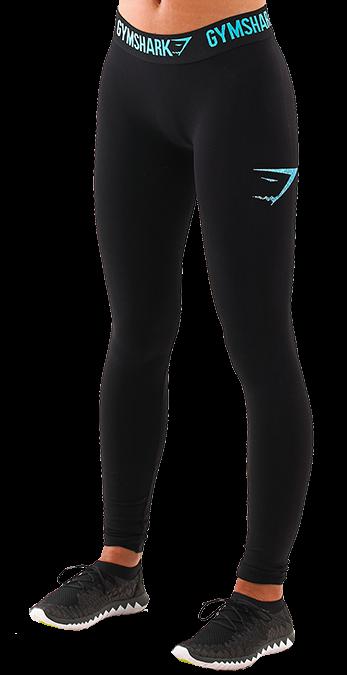 Gymshark Form Running Leggings - Cyan
