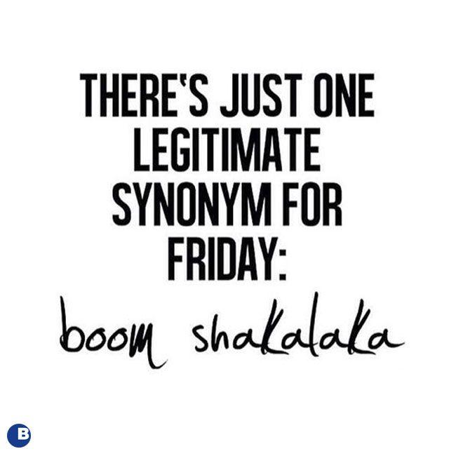 Oh Yeah Yeah Yeah Yeah #TGIF #FridayFunday