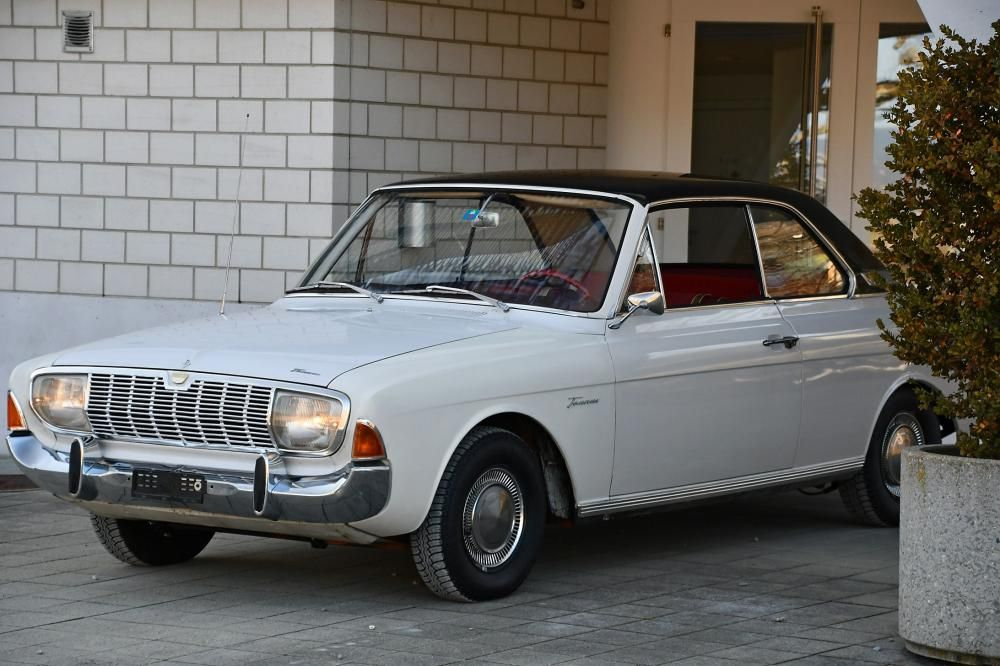 Ford Taunus 20 M Ts P5 Coupe Hardtop 1966 Ford Oldtimer