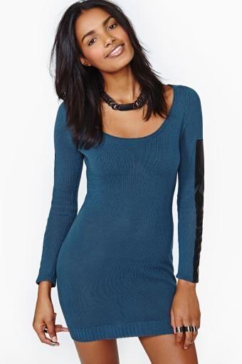 Nasty Gal Clean Slate Knit Dress