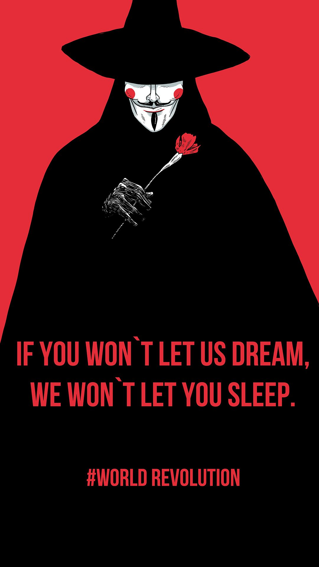 world revolution vendetta rose android wallpaper