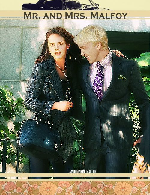 AU Meme: Draco and Hermione as the Upper East Side golden couple