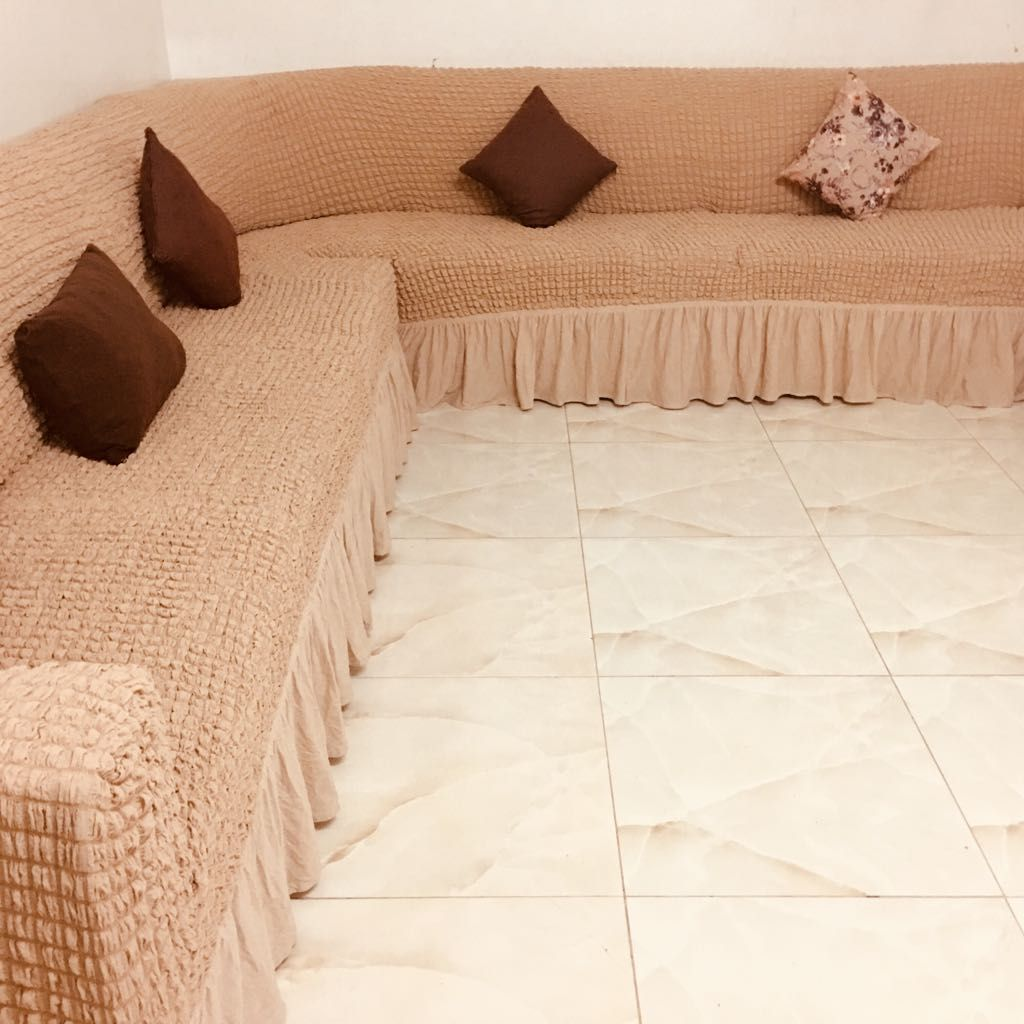 لطلب واتس اب 0543221247 غطا كنب بالمتر من تصوير زباينا يتوفر عندنا تلبيسات كنت با المتر تفصيل على الكنبات المتصل جميع Home Decor Sectional Couch Furniture