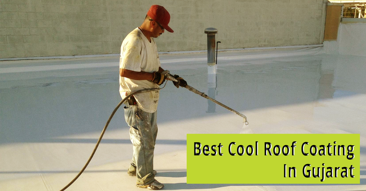 Roof Insulation Cooling Panache Green Gujarat India Cool Roof Roof Insulation Roof Waterproofing