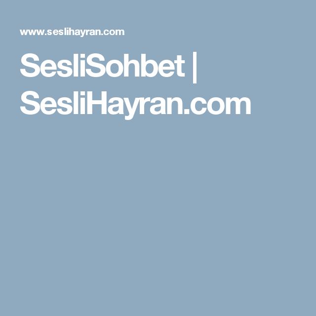 SesliSohbet   SesliHayran.com