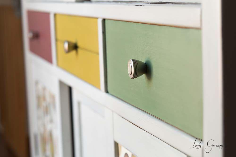 #Muebles #restaurados con #Chalkpaint. #Aparador. www.lolagranado.com
