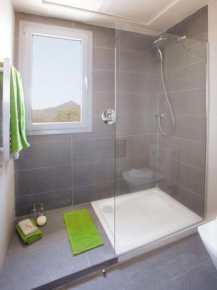 Antes y despu s un piso de 40m2 reformado ba os con - Platos de ducha diseno ...